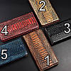 """Чохол книжка з натуральної LUX шкіри магнітний протиударний для ZTE Blade 11 Prime """"ZENUS"""", фото 4"""