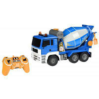 Радиоуправляемая игрушка Same Toy Бетономешалка синяя (E518-003)