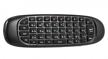 Гіроскопічний пульт (повітряна мишка) клавіатура Air Mouse C120 (I8) (російська розкладка)