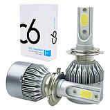 Світлодіодні лампи, комплект. LED H7, 8000LM. 9-32V/ Гарнатия, фото 5