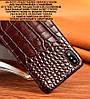 """Чехол накладка полностью обтянутый натуральной кожей для ZTE S30 Pro """"SIGNATURE"""", фото 4"""