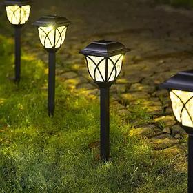 Садові ліхтарі на сонячних батареях
