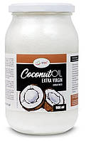 Органическое кокосовое масло нерафинированое, холодный отжим Iherb Coconut Extra Virgin 900ml