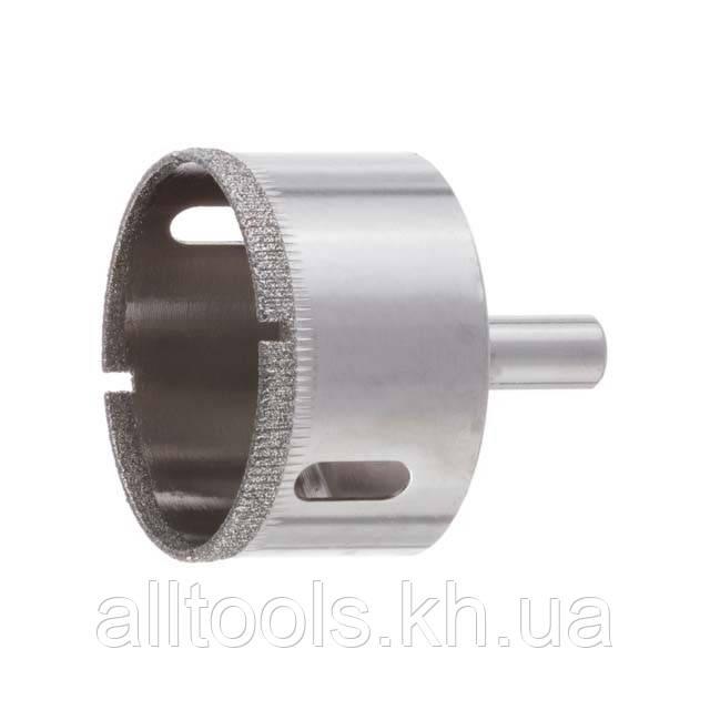 Сверло алмазное трубчатое по стеклу и керамике 50 мм INTERTOOL SD-0368