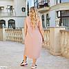 Красиве жіноче батальне літній ошатне плаття , великий розмір 50 52 54 56 58 60, фото 10