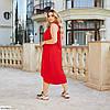 Красиве жіноче батальне літній ошатне плаття , великий розмір 50 52 54 56 58 60, фото 7