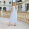 Женское красивое батальное летнее нарядное платье , большой размер 50 52 54 56 58 60, фото 2