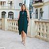 Женское красивое батальное летнее нарядное платье , большой размер 50 52 54 56 58 60, фото 5