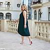 Женское красивое батальное летнее нарядное платье , большой размер 50 52 54 56 58 60, фото 6