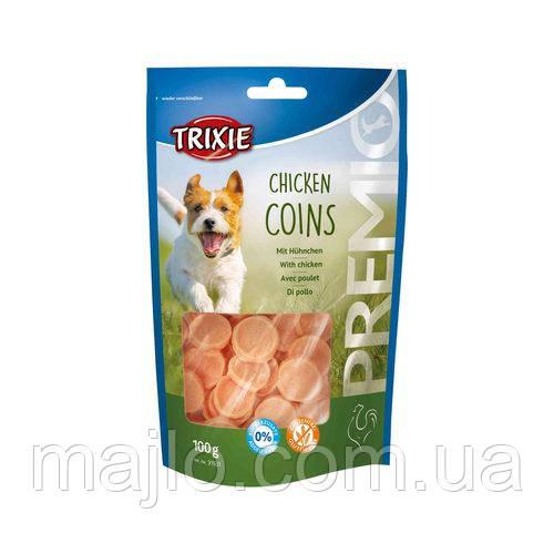 Ласощі для собак Trixie 31531 Premio Chicken Coins курка 100 г