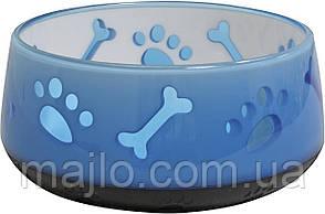 Миска Croci DogWol голубая 300 мл