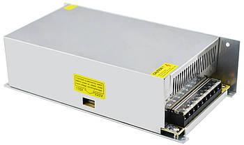 Блок живлення UKC S-600-12 12V 50A 600W (металевий) (3395)