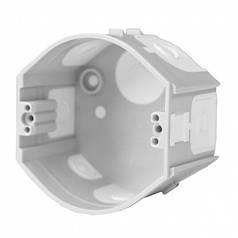 Коробка приборная стыкуемая, ПВХ; серая; Ø73х45мм, Копос