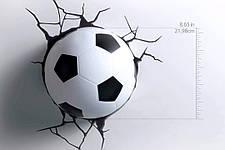Нічник 3D football light світильник футбольний м'яч, фото 2