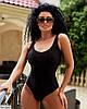 Жіночий яскравий літній злитий, відрядний купальник, фото 8