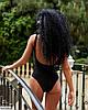 Жіночий яскравий літній злитий, відрядний купальник, фото 7
