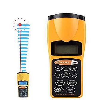 Лазерна лінійка 3007 test distance, рулетка ультразвукова, далекомір
