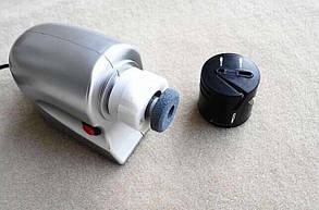 ЭлектроТочилка для ножей и ножниц ножеточка электрическая ножів, фото 2