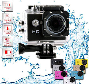 Екшн камера A-7 HD 720p