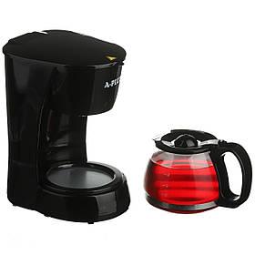 Кофеварка A-PLUS 650 Ватт со стеклянной колбой