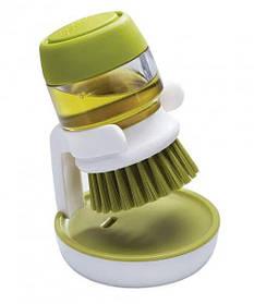Щітка для миття з дозатором для рідкого мила Jesopb