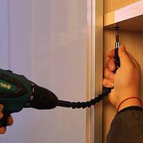 Гнучкий подовжувач вал для дрилі, шуруповерта, фото 3