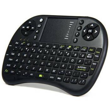 UKB-500-RF 2.4 ГГц міні бездротова клавіатура зі світлодіодним індикатором, тачпадом