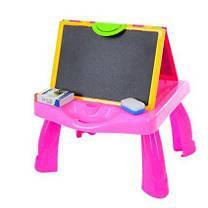 Детский мольберт  3 в 1 столик, проектор, фото 3