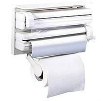 Кухонный держатель Triple Paper Dispenser 4 в 1, фото 2