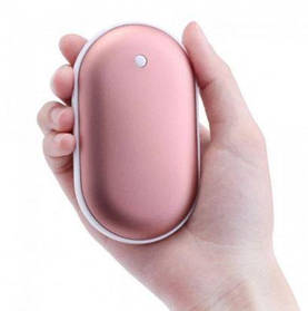 Грелка-повербанк для рук на 4800 mAh Pebble Hand Warmer PowerBank