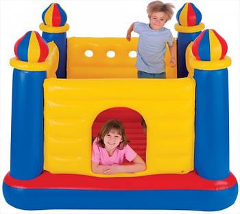 Надувний замок ігровий центр-батут Intex 48259