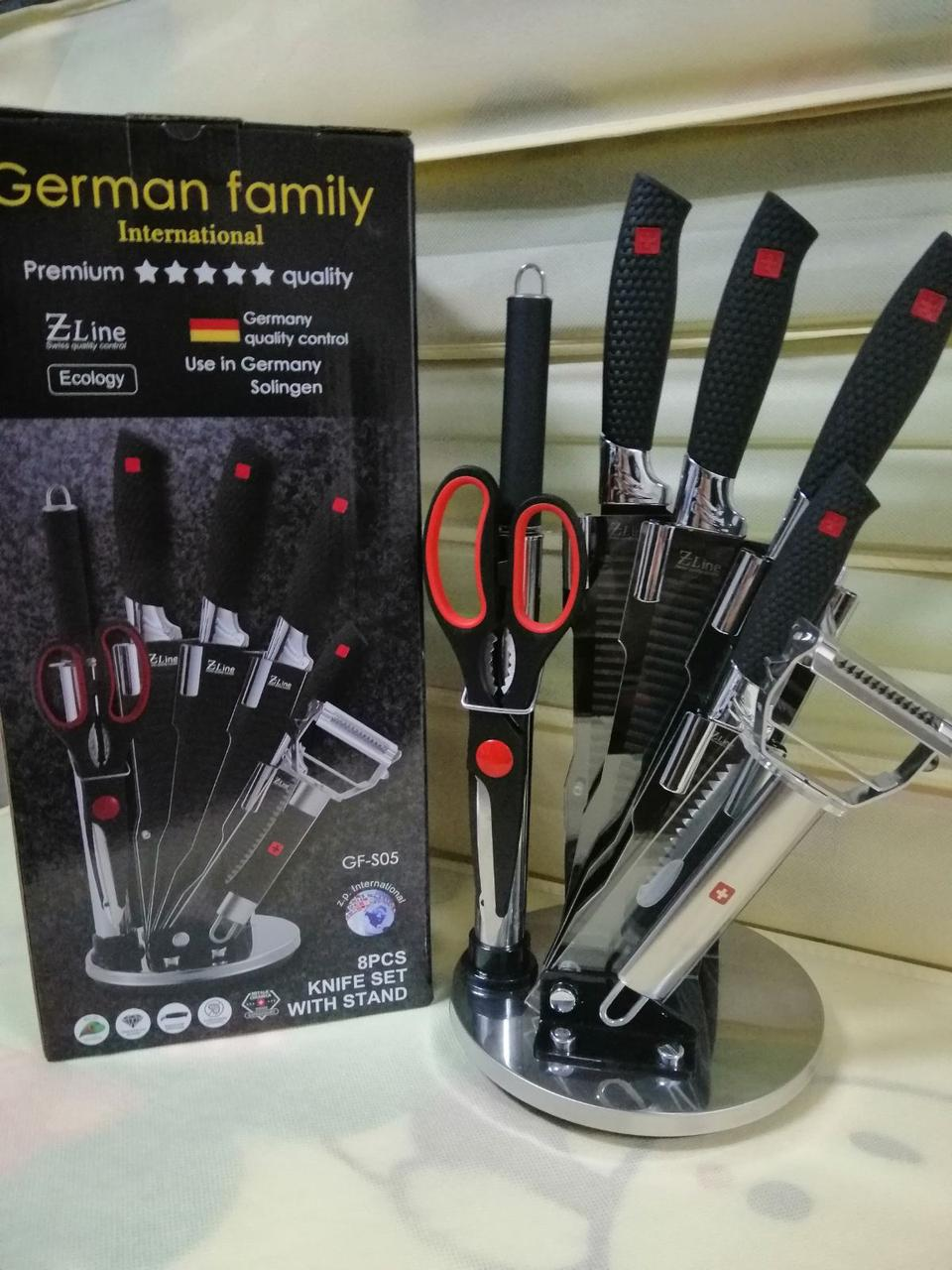 Набор профессиональных кухонных ножей German Family S05