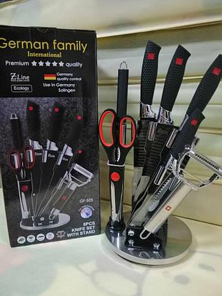 Набор профессиональных кухонных ножей German Family S05, фото 2