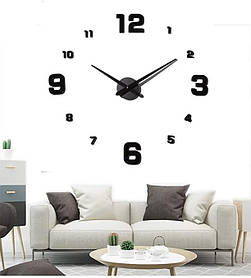 Годинники настінні 3D Diy Clock з цифрами