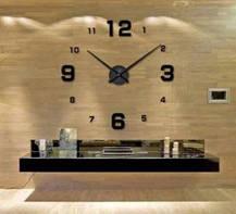 Годинники настінні 3D Diy Clock з цифрами, фото 2