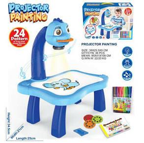 Детский Проектор Для Рисования Со Столиком Projector Painting, фото 2