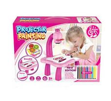 Детский Проектор Для Рисования Со Столиком Projector Painting, фото 3