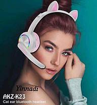 Беспроводные наушники Cat Ear с милыми кошачьими ушками, фото 3