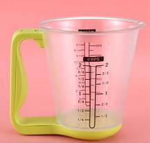 Цифровий кухонні ваги до 1 кг мірна чашка, фото 3