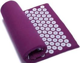 Ортопедичний масажний килимок Acupressure mat з подушкою, фото 2