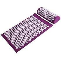 Ортопедичний масажний килимок Acupressure mat з подушкою, фото 3
