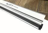 Профиль алюминиевый для натяжных потолков - световые линии SLOTT ниша(БЕЛЫЙ), фото 4