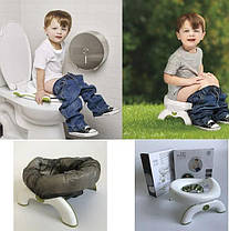 Детский дорожный туалет 2-in-1 OXO Tot, фото 3