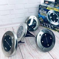 Вуличні ліхтарі для саду Bell Howell Disk lights, фото 3