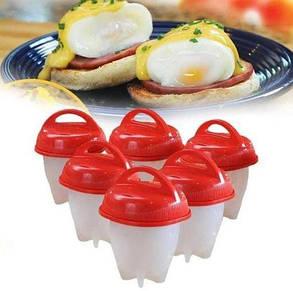 Силіконові формочки для варіння яєць без шкаралупи EGG Boiler, фото 2