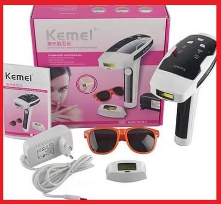 Фотоепілятор KEMEI епілятор безболісний эпелятор, фото 2
