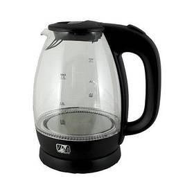 Электрический чайник PROMOTEC 1,7 л, 2250 Вт, стекло