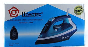 Утюг Domotec 2200 вт с регулируемым потоком пара, КЕРАМИКА, фото 3