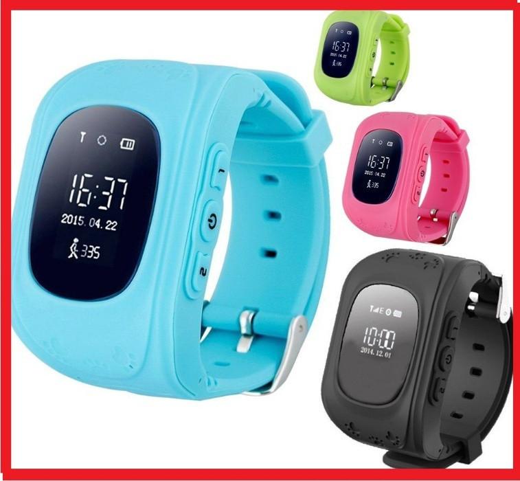 Дитячі розумні годинник Smart Baby Watch Q50 з GPS трекером