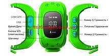 Дитячі розумні годинник Smart Baby Watch Q50 з GPS трекером, фото 3